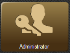 Administrator menu button