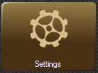 Settings menu button