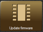 Firmware update menu button